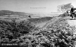Pilsden Pen Camp c.1955, Bettiscombe