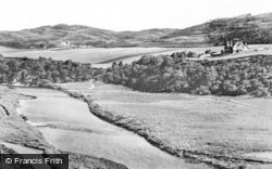 Bettyhill, Skelpick Lodge And River Naver c.1950