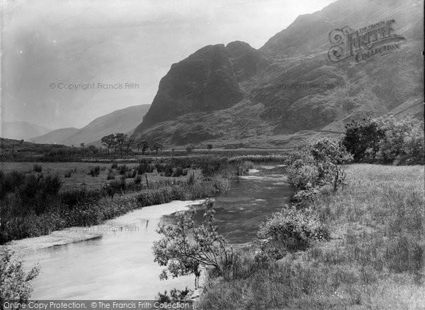 Betws Garmon, Elephant Mountain And Gwyrfai River 1933