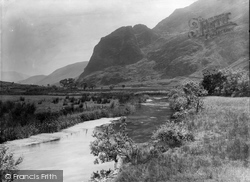Betws Garmon, Elephant Mountain And Gwyrfai River 1933