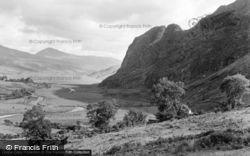 Betws Garmon, Llyn Cwellyn And Elephant Mountain 1950