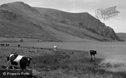 Betws Garmon, Llyn Cwellyn And Elephant Mountain 1952