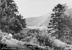 Betws Garmon, Llyn Cwellyn From Plas-Y-Nant C.E Holiday Home 1950
