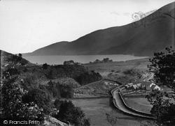 Llyn Cwellyn From Plas Y Nant c.1930, Betws Garmon