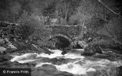 Nant Mill Falls c.1935, Betws Garmon
