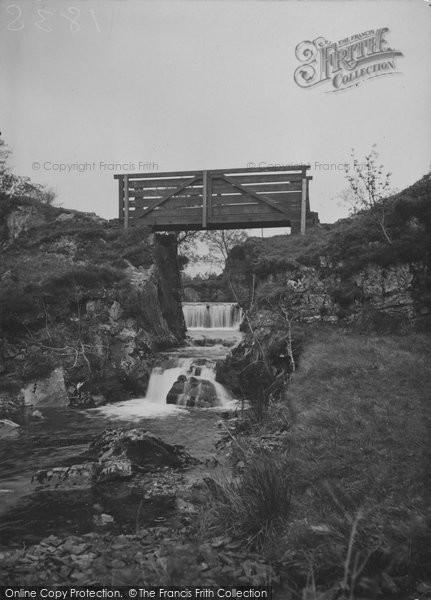 Betws Garmon, Nant Mill Falls c.1950