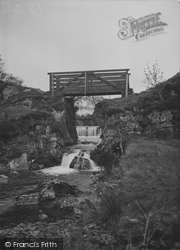 Betws Garmon, Nant Mill Falls c.1950