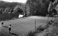 Betws Garmon, Plas-Y-Nant C.E Holiday Home, Tennis Court 1950