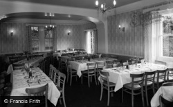 Betws Garmon, The Dining Room, Plas-Y-Nant 1963