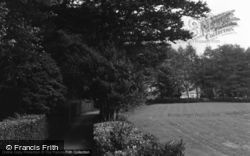 Betws Garmon, The House From The Drive 1966