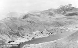 Betws Garmon, The Snowdon Range From Mynydd Mawr c.1950