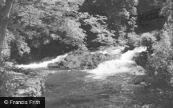 Betws Garmon, The Waterfall 1952