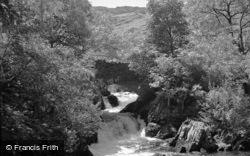 The Waterfall And Bridge 1952, Betws Garmon