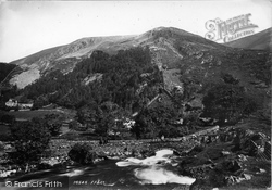 Betws Garmon, View At Nant Mill 1895