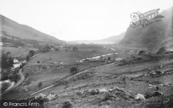 Betws Garmon, View From Elephant Mountain c.1930