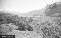 Betws Garmon, View From Rapture Heights, Plas-Y-Nant 1952