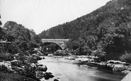 Betws-Y-Coed, Beaver Bridge c.1875