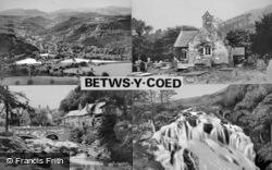 Composite c.1950, Betws-Y-Coed