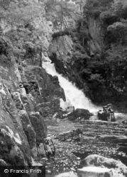 Betws-Y-Coed, Conway Falls 1963