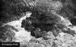 Betws-Y-Coed, Conway Falls c.1935