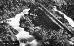 Conwy Falls c.1920, Betws-Y-Coed