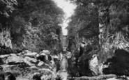 Betws-Y-Coed, Fairy Glen 1898