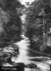 Fairy Glen c.1920, Betws-Y-Coed