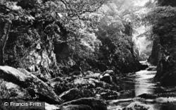 Fairy Glen c.1923, Betws-Y-Coed