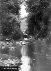 Betws-Y-Coed, Fairy Glen c.1930