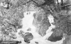 Betws-Y-Coed, Falls Of Machno c.1880