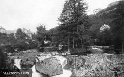 Fir Tree Island c.1920, Betws-Y-Coed