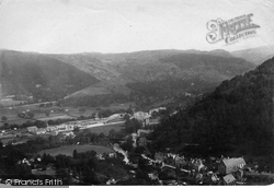 From Hill Above Pont Y Pair 1892, Betws-Y-Coed