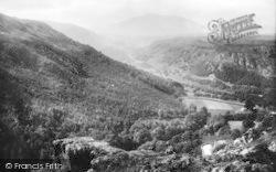 Betws-Y-Coed, Lledr Valley 1891
