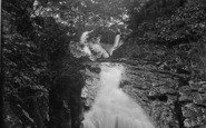 Betws-Y-Coed, Lower Swallow Falls 1913