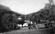 Betws-Y-Coed, Meeting Of The Conway And The Lledr 1892
