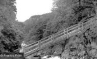 Betws-Y-Coed, Miner's Bridge 1953