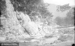Betws-Y-Coed, Miners Bridge 1891