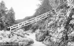 Betws-Y-Coed, Miners Bridge 1892
