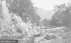 Betws-Y-Coed, Miners Bridge c.1876