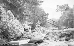 Betws-Y-Coed, Miners Bridge c.1880
