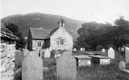 Betws-Y-Coed, Old Church 1892