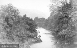 Betws-Y-Coed, On The Llugwy c.1876