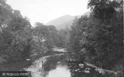 Betws-Y-Coed, On The Llugwy c.1935