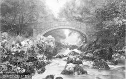 Betws-Y-Coed, Pont-Y-Ledr c.1890