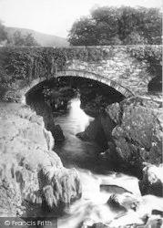 Betws-Y-Coed, Pont Y Pair 1891