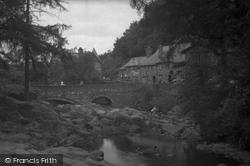 Pont Y Pair Bridge c.1952, Betws-Y-Coed