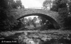 Rhydlanfair Bridge 1968, Betws-Y-Coed