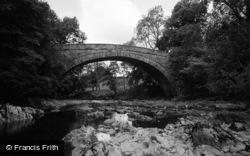 Betws-Y-Coed, Rhydlanfair Bridge 1968