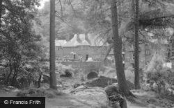 Betws-Y-Coed, River By Fir Tree Island 1953