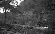 Betws-Y-Coed, River Llugwy By Fir Tree Island 1953